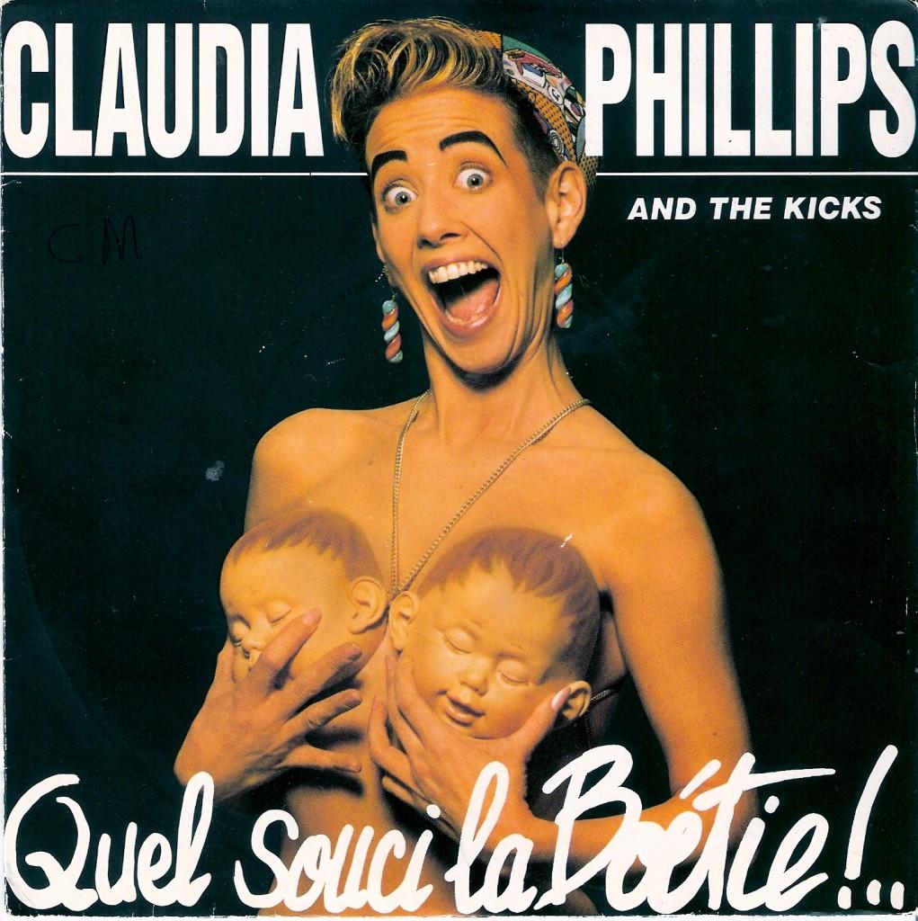 Claudia Philips haar voorkant