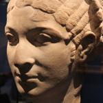 Portret van een vrouw vermoedelijk Cleopatra 50-40 vC