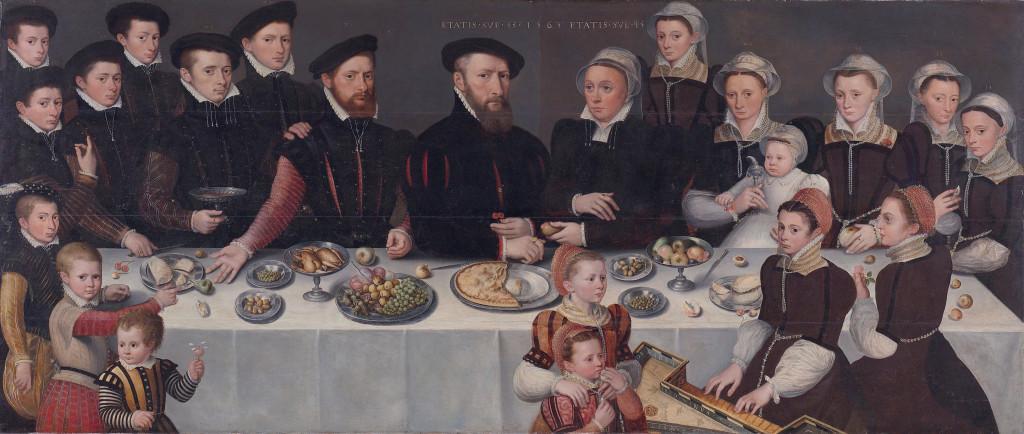 Familieportret Pierre de Moucheron (1563)